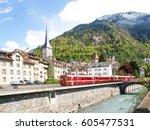 Chur  Switzerland  Panorama Of...