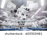 ophthalmology operation... | Shutterstock . vector #605503481