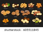Nut Food Grains Or Beans Of...