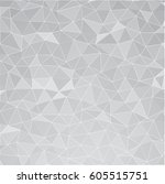 abstract mosaic polygonal... | Shutterstock .eps vector #605515751