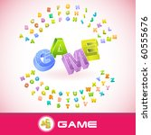game. vector 3d illustration. | Shutterstock .eps vector #60555676