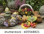 Table Decoration In Autumn