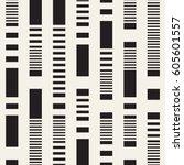 black and white irregular... | Shutterstock .eps vector #605601557