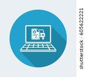 automotive online quote   yen   ...   Shutterstock .eps vector #605622221