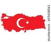 turkey | Shutterstock .eps vector #605638061