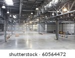 large modern storehouse with... | Shutterstock . vector #60564472