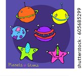 Planets And Stars With...