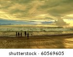 children playing at bali... | Shutterstock . vector #60569605