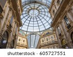 milan  italy   march 05  2017 ... | Shutterstock . vector #605727551