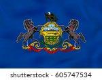 Pennsylvania Waving Flag....