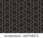 abstract geometric pattern with ... | Shutterstock .eps vector #605748371