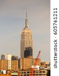 new york  usa   sep 25  2015 ... | Shutterstock . vector #605761211