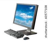 Desktop Computer  Monitor ...