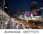 angkok  thailand  march  1 ... | Shutterstock . vector #605777171