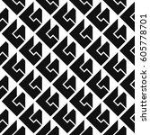 seamless isometric patterns | Shutterstock .eps vector #605778701