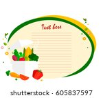 banner  sticker  a note for the ... | Shutterstock .eps vector #605837597