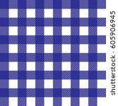 a seamless classic plaid... | Shutterstock .eps vector #605906945