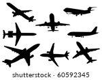 airplanes | Shutterstock . vector #60592345