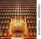 Small photo of mahayanna buddha or Bodhisattva stature in Singapore