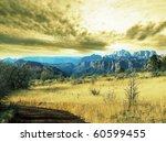 autumn in mountain | Shutterstock . vector #60599455