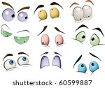 the complete set of the drawn... | Shutterstock . vector #60599887