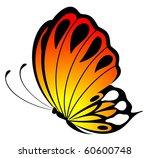 beautiful butterfly | Shutterstock . vector #60600748