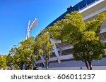 Yokohama Stadium In Yokohama...