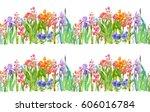 panoramic view of garden...   Shutterstock . vector #606016784