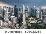 kuala lumpur city. an amazing... | Shutterstock . vector #606033269
