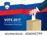 slovenia democracy political... | Shutterstock .eps vector #606040799