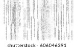 vector streaming binary code... | Shutterstock .eps vector #606046391