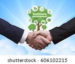technology  the internet ... | Shutterstock . vector #606102215