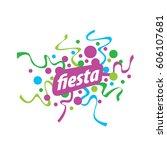 holiday vector logo   Shutterstock .eps vector #606107681