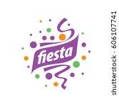 holiday vector logo | Shutterstock .eps vector #606107741
