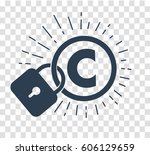 concept of protection of... | Shutterstock .eps vector #606129659