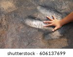 child hands compared  with... | Shutterstock . vector #606137699