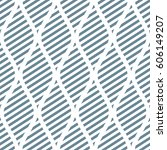 seamless raster abstract... | Shutterstock . vector #606149207