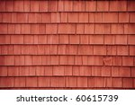 Red Shingles On A Barn...