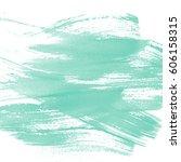 green watercolor background | Shutterstock . vector #606158315