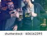 craft beer booze brew alcohol... | Shutterstock . vector #606162395