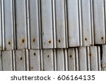 old painted wooden texture of... | Shutterstock . vector #606164135