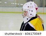 Small photo of Hockey goalie mask