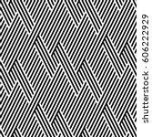 vector seamless pattern. modern ... | Shutterstock .eps vector #606222929