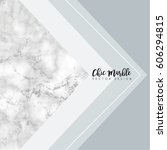minimalist marble texture...   Shutterstock .eps vector #606294815