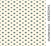 seamless pattern with geometric ... | Shutterstock .eps vector #606302441