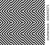 vector seamless pattern.... | Shutterstock .eps vector #606343271