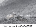 vaduz  liechtenstein   december ... | Shutterstock . vector #606343787