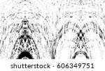 grunge black and white urban... | Shutterstock .eps vector #606349751