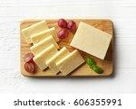 Cutting Board Of White Cheddar...