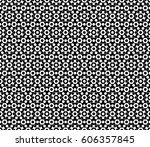 vector monochrome texture ... | Shutterstock .eps vector #606357845